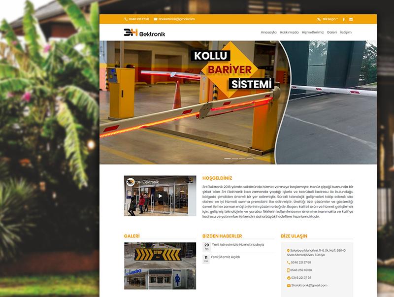 3h Elektronik - NeoCloudy Kolay Panel Web Sitesi
