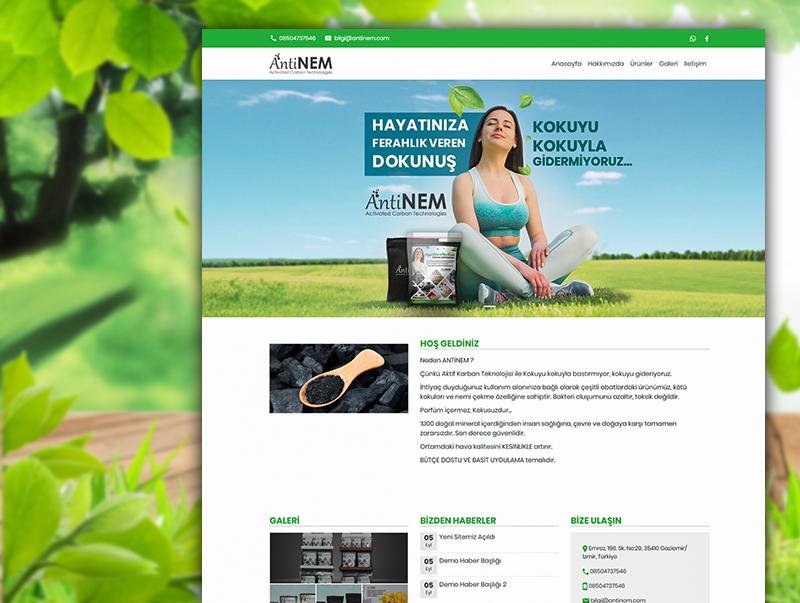 AntiNem - NeoCloudy Kolay Panel Web Sitesi