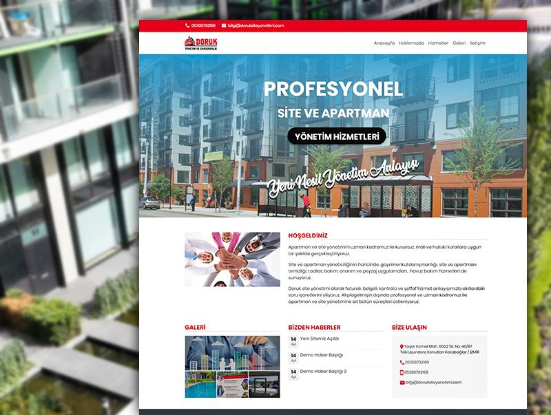 Doruk Site Yönetimi - NeoCloudy Kolay Panel Web Sitesi