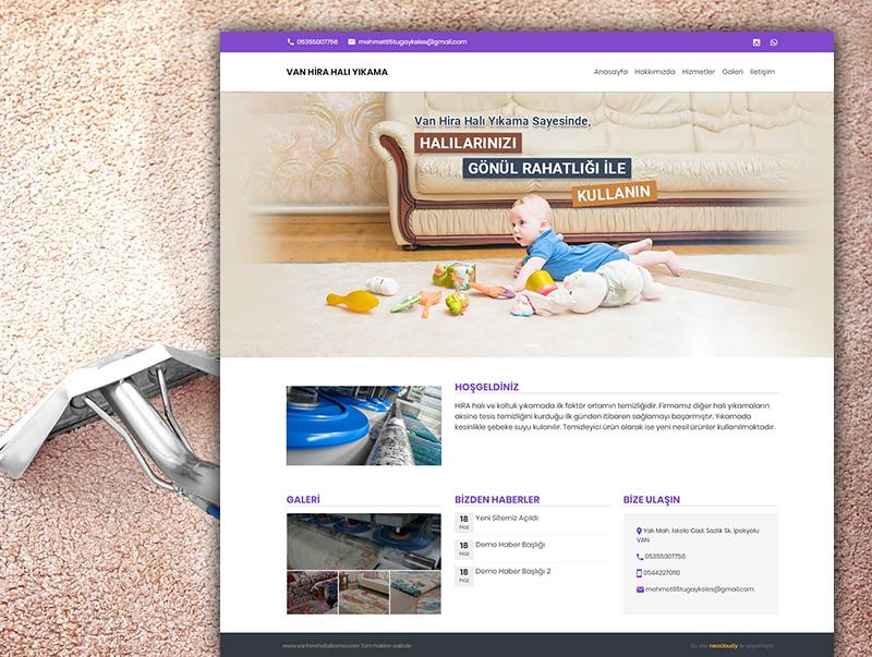 Van Hira Halı Yıkama - NeoCloudy Kolay Panel Web Sitesi
